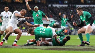 Ireland beat England at Twickenham to earn Grand Slam