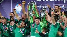 Ireland clinch Grand Slam glory on St Patrick's Day at Twickenham