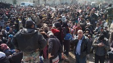 Syria's eastern Ghouta exodus a 'tableau of desperation'