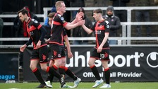 Crusaders beat Dungannon Swifts.