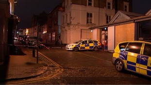 Thirteen injured and man arrested on suspicion of attempted murder after car driven into Gravesend nightclub