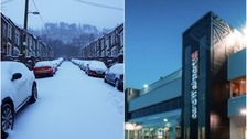 Widespread disruption as snow falls across Wales