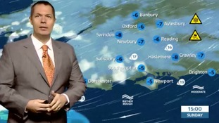 James Wright has forecast for west of region