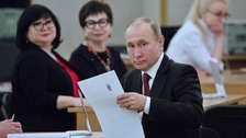 'Covering Putin's election is like going to watch Titanic'
