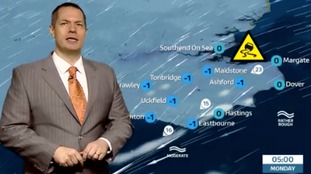 Latest forecast for east of region