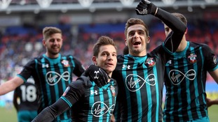 Mark Hughes wins his first game in charge as Southampton boss after they see off Wigan in the FA Cup