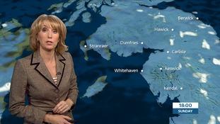 VIDEO: Sunday's forecast for the Border region