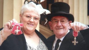 Penny and Ron Jones have been honoured for their foster work.