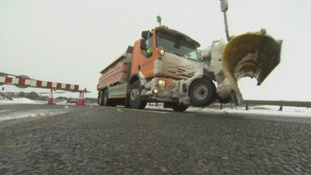 Gritters on A66