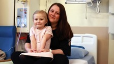 Emily, four, saves mum's life after she collapses