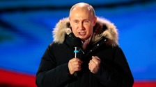 Putin dismisses 'nonsense' Salisbury claim after election win