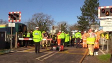 Level crossing to reopen after fatal accident