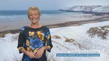 Wales weather: Dry and bright but bitterly cold!