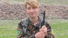Grieving father's tribute to daughter killed fighting with YPG