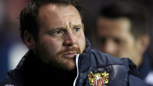 Darren Sarll was sacked by Stevenage on Sunday.