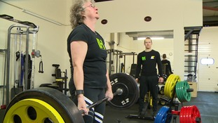 59 year old Primary School teacher qualifies for British Masters in Powerlifting