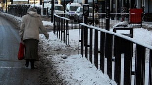 The snow can be more than just a nuisance to older people