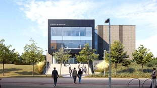 Artist's impression of the new school at Chelmsford