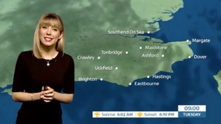 Holly's early forecast for east of region