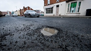 Potholes leave one in five local roads in poor condition as councils face funding deficit