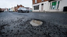One in five local roads in poor condition due to potholes