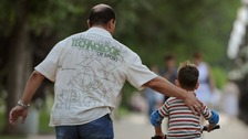 Working fathers 'need more support to care for children'