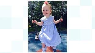 Kiara Moore would have celebrated her third birthday next week.