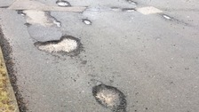 Is your road blighted by potholes? Contact our reporter