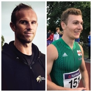 Left: Tom Druce     Right: Sam Wallbridge