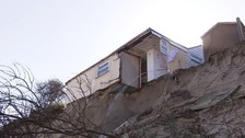 Fears for tourist season over crumbling cliffs at Hemsby