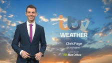 Chris Page has today's forecast