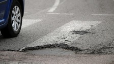 Filling all the potholes in Wales would take Welsh councils more than twenty years
