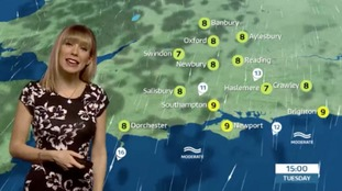 Holly's lunchtime forecast for west of region