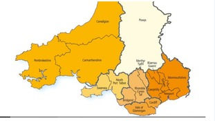 South Wales councils