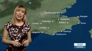 Holly's lunchtime forecast for east of region
