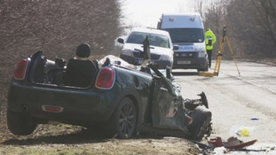 One driver involved in the collision had to be cut free from their car