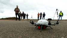 Drones to help forecast weather