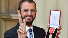 Arise Sir Ringo! Former Beatle knighted