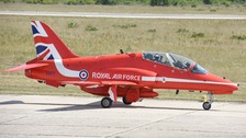Red Arrows jet crashes after incident at RAF Valley