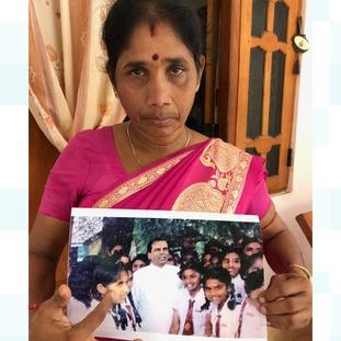 Jeyavanitha Kasipillai's daughter went missing when she was 17.