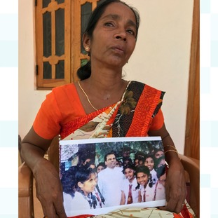 Annalaxmi Hussain's husband and two sons have all vanished.