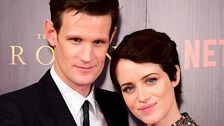Matt Smith and Claire Foy