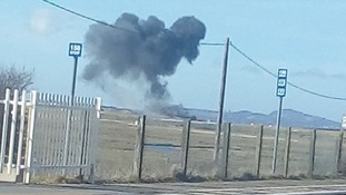 Red Arrows jet has crashed after an incident at RAF Valley in North Wales