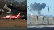 RAF engineer killed in Red Arrows 'fireball' crash
