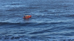 Man rescued from sea at Cullercoats