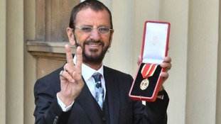 Beatles' Ringo Starr says he wishes his band mates were there to see him receive a knighthood