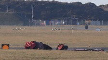 Investigation continues after Red Arrows crash