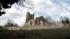 The ruined St Mary's Church at Clophill in Bedfordshire is now being preserved.