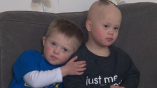 Eli Taylor and Mason Lee have their own Facebook page Best Buddies.