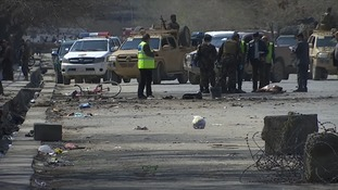 Suicide bombing near Kabul university on New Year festival kills at least 31 and wounds 18